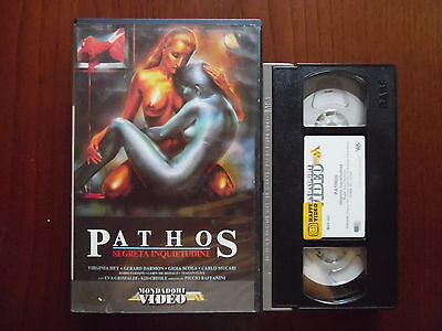 Pathos - Segreta inquietudine (Piccio Raffanini, Virginia Hey)  VHS Ricordi rara