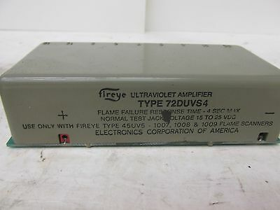 Fireye Ultraviolet Amplifier Type 72DUVS4 D-Series 41485 WVS