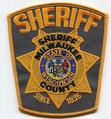 Milwaukee County Wisconsin Sheriff Patch // OLD STYLE