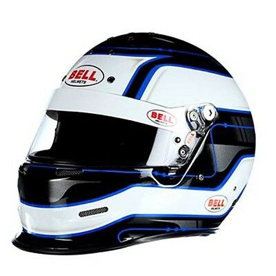 Bell K.1 Pro SA2015 Racing Helmet, White, Size Large