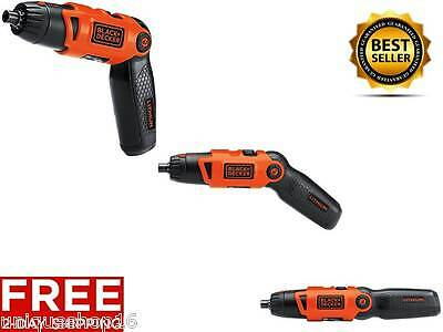 New Cordless Lithium Ion Rechargable Electric Screwdriver Power Tool Fathers Day