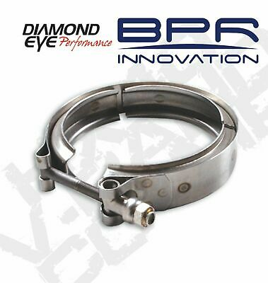 Diamond Eye V-Band Exhaust Clamp for HX40 Turbo Direct Pipe VC400HX40