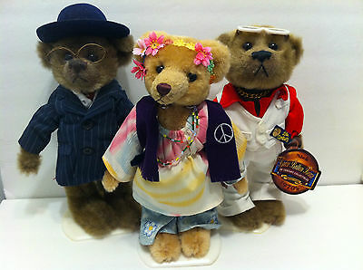 "Pickford Bears Brass Button 20th century collection ""ivy"" ""nick"" ""baxter"""