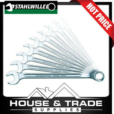 Stahlwille Spanner Set Long Combination 10 Piece 8-19mm Metric 96401007