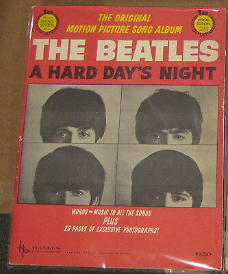 The Beatles A Hard Day's  Night Original Motion Picture Song Album Booklet 1964