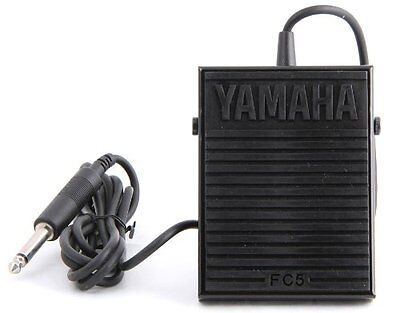 Yamaha foot switch FC5 Sustain Pedal for Portable Electronic Keyboards