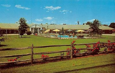 YOUNGSTOWN, OH  Ohio     TOWN HOUSE MOTEL  Roadside   Pool    c1950's  Postcard