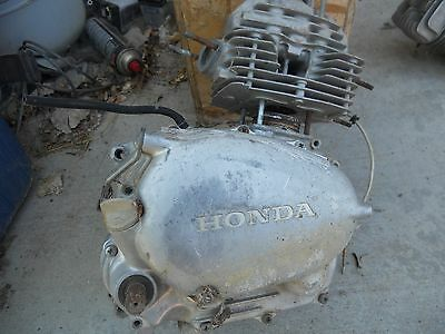1972 Honda  Sl125 Engine (For Parts)