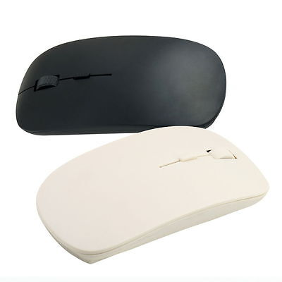 Portable Thin 2.4GHz USB 10m Wireless Optical Mouse Mice for Laptop Computer PC