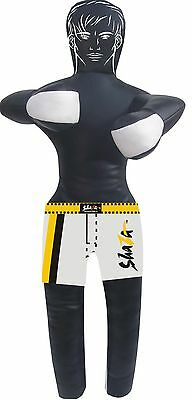 Brazillian MMA Martial Arts Grappling Dummy with Shorts & Face Unfilled