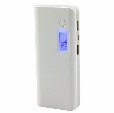 50000mAh 2-USB Power Bank LED LCD Cell Phone External Battery Charger Protable