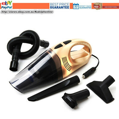 12V 100W Portable Bagless Handheld Wet/Dry Auto Car Vacuum Cleaner