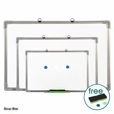 Magnetic Dry Erase Board Writing Whiteboard w/Eraser Office Single Side