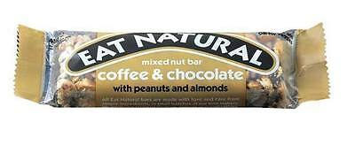 Eat Natural Coffee & Chocolate with Peanuts and Almond 45g x12