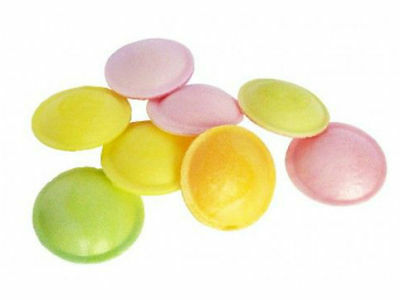 UFO Colorful Favorite Edible Disc Filled with Sherbert - Brand New 10 x UFO's