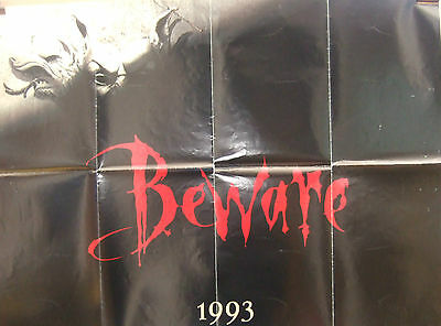 BRAM STOKERS DRACULA Beware 1993(1993)Original UK quad advance cinema poster
