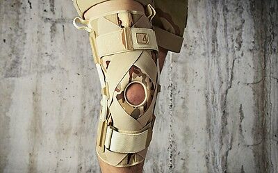 Knee Brace Support Acl Ligament Mcl With Leaf Spring Hinges