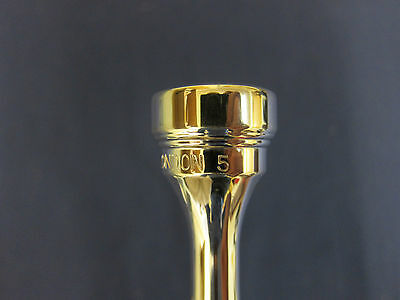 Denis Wick Trumpet Mouthpiece 5882-5 (new) Silver Plate