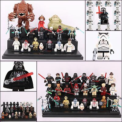 Starwars Collection Set Storm Trooper Darth Vader Han Solo Mini figure fit Lego