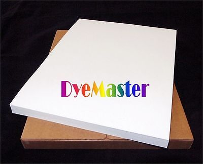 """DyeMaster-R Dye Sublimation Paper for Ricoh/Epson Printer, 8.5 x 14"""" Sheets"""