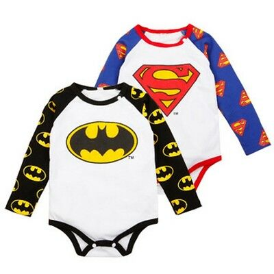 Tutina Body Bimbo  Neonato Superman Baby Romper Suit