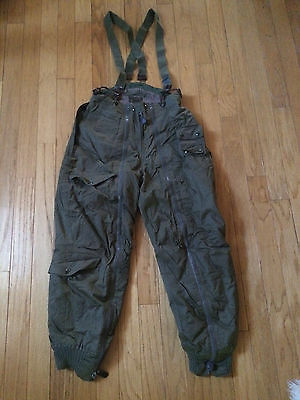 Original Vintage Wwii Usaf Type A-11A Alpaca Flight Pants Size 32X32!