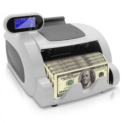 NEW Pyle PRMC100 Automatic Digital Cash Money Banknote Counting Machine