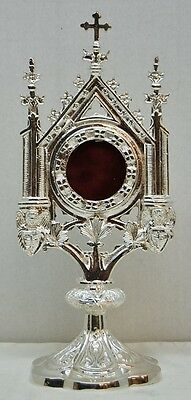 Beautiful Silver Plated Reliquary For Your Relic - 10 - (Chalice Co)