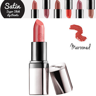 Barry M - Lipstick Lip Paint Colour Satin Super Slick Collection - Marooned