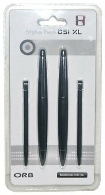 ORB XL Stylus 4-Pack (Nintendo 3DS XL/DSi XL) Black