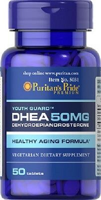 BPR044- DHEA 50mg. 50c. Puritans