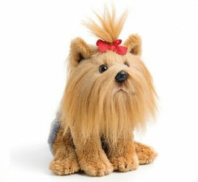 Terrier Plush Stuffed Animal Extra Small 5.5 Inches Tall Realistic Cute Huggable