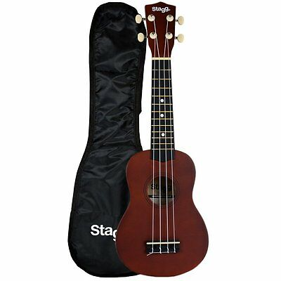 Stagg US10 Traditional Soprano Ukulele Instrument