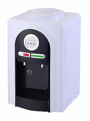 DISPENSER COOLER HOT & COLD TAPS (NSW metro client has FREE 3x15L bottle water)
