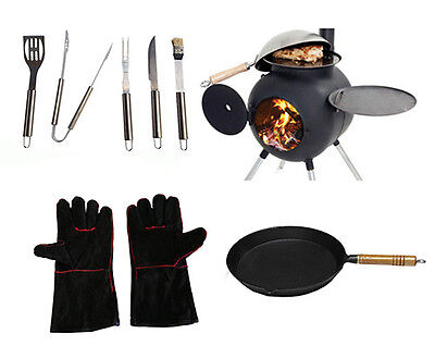 Ozpig Camp Cooker Fire Pit Set