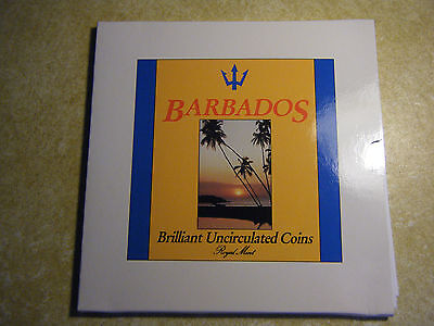 Barbados 1989 Coin Set Mint Set