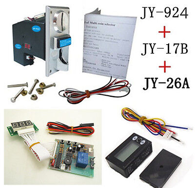 924+17B+26A coin operated time control device for cafe kiosk