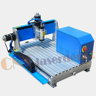 "New 800W 4060 CNC Router Engraving Drilling Milling Machine Air Cooling 16""x 24"""