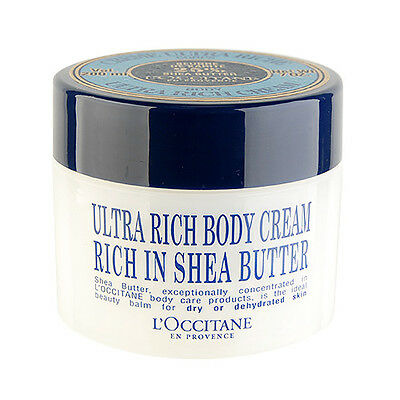 1 PC L'Occitane Shea Butter Ultra Rich Body Cream 200ml Moisturizers Natural