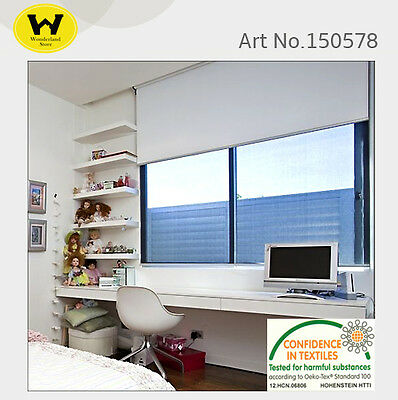 100% Blockout Roller Blinds Blackout Commercial Quality Many Colours