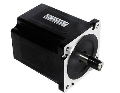 Nema 34 3phase 4.5N.m 637ozf.in stepperMotor 86mm frame 12mm shaft 86J12103-650
