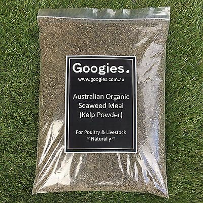 SEAWEED MEAL - 2.5kg FREE EXPRESS POST 100% Australian, Pure, Natural & Organic