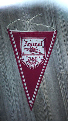 Pennant Arsenal FC London Cup Winners Wimpel 25 cm Very Rare Football England