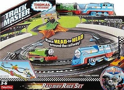 Thomas and Friends DFM53 TrackMaster Percy's Railway Race Set