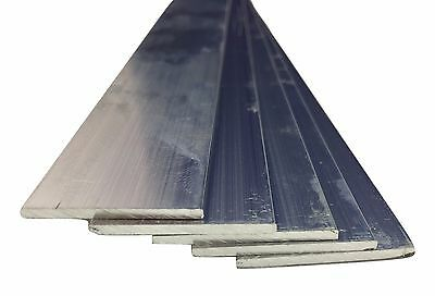 Aluminium Flat Bar many size choose Length
