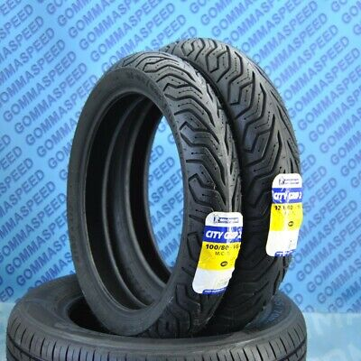 Pneumatici Michelin City Grip 100/80/16 + 120/80/16 Honda SH125 SH150 DOT18