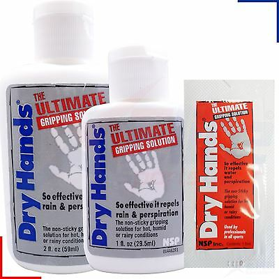 Dry Hands Ultimate Grip Solution 1oz/2oz Pole Dancing, Fitness, Golf, Tennis,Gym