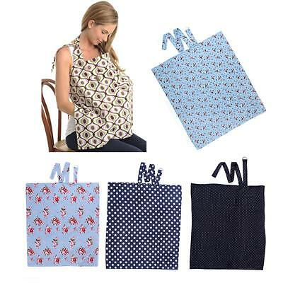New Baby Mum Breastfeeding Cover Nursing Apron Cover Up Baby Poncho Cotton Shawl