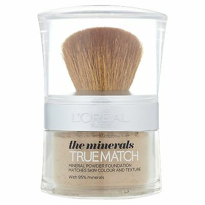 Loreal True Match Minerals Powder Foundation # D6/W6 HONEY (SEALED)