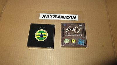 Firefly SDCC 2016 Limited Edition Coin Loot Crate Cargo Crate Exclusive In Box